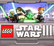 Lego III Star wars the clone wars ds menu