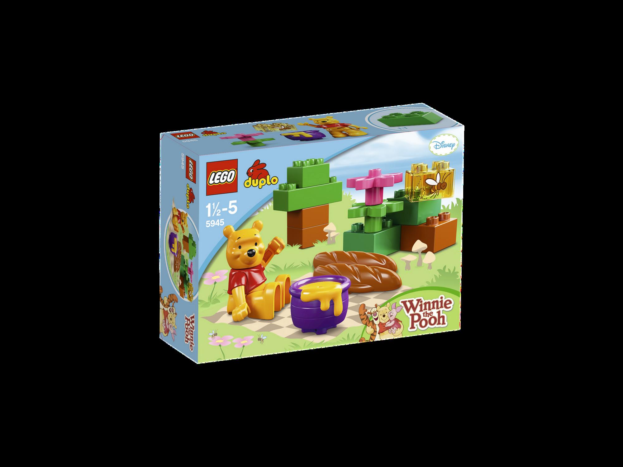 5945 Winnie The Poohs Picnic Brickipedia Fandom Powered By Wikia Lego 5682 Duplo Fire Truck