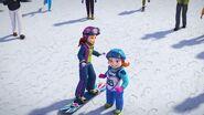 Fiona snowboardeuse-La compétition de snowboard