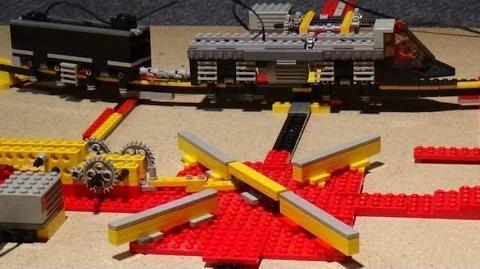 LEGO Monorail mit Kreuz - Weiche Switch ... üfchen