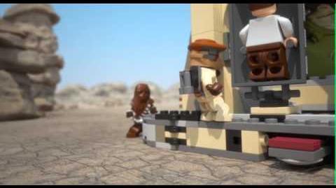 LEGO STAR WARS - Jabba's Palace 9516