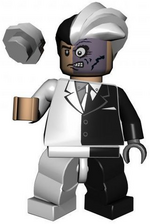 Two Face LEGO Batman