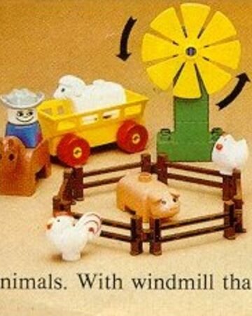 Lego Duplo Windmill