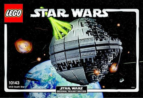 10143 Death Star II Ultimate Collector's Series Lego Star Wars