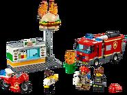 60214 L'intervention des pompiers au restaurant de hamburgers
