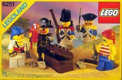 6251 Pirate Mini Figures