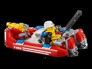 7213 Le camion tout-terrain et le bateau des pompiers 6
