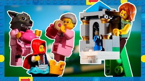 Introducing LEGO Ideas Pop-Up Book! Set 21315 2 Classic Fairy Tales