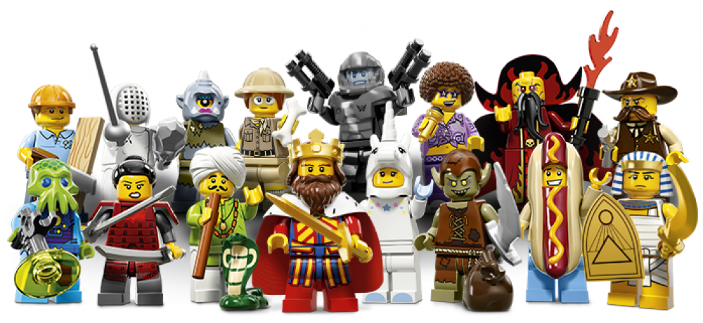 Lego Mini Figure series 13 goblin complete
