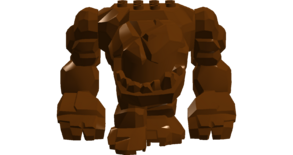 Brown Monster (Space Zoo Adventure)