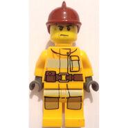 Lego Fireman Forest