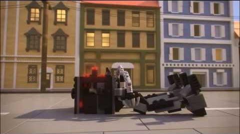 Lego Movie 70807 METALBEARD'S DUEL Lego 3D Review