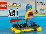 1733 Shipwrecked Pirate
