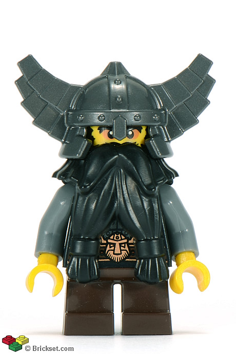 LEGO-MINIFIGURES SERIES X 1 LEGS FOR THE EVIL DWARF FROM SERIES 5 PARTS 5