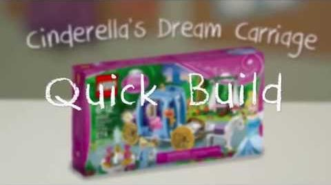 LEGO Building with Friends - Cinderella's Dream Carriage Quick Build Time Lapse