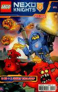 LEGO Nexo Knights Comics 1