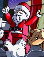 Shazam Santa