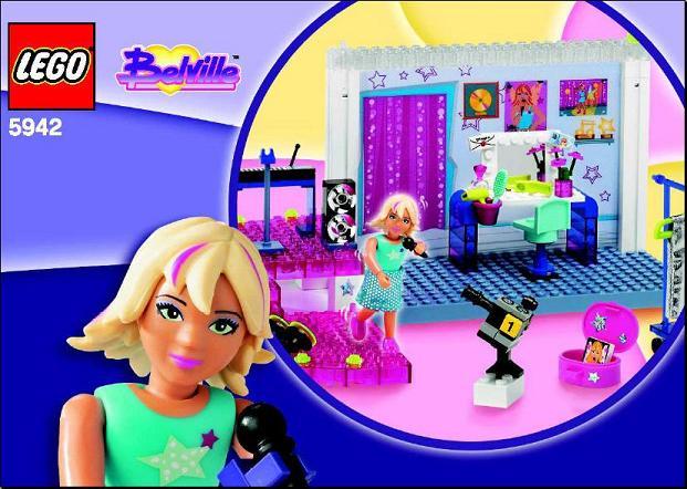 5942 LEGO Pop Studio Belville