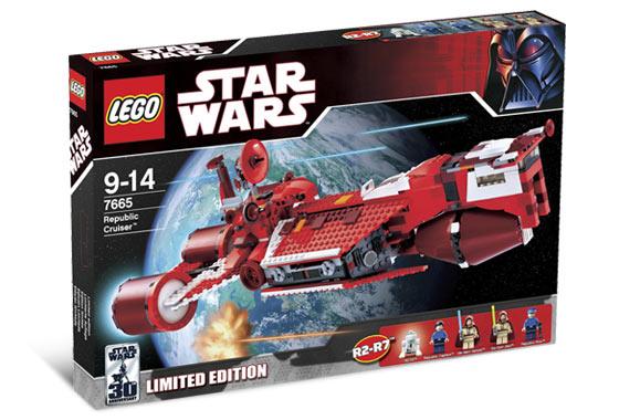 7665 republic cruiser brickipedia fandom powered by wikia - Croiseur star wars lego ...