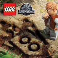 LEGO Jurassic World Owen Grady