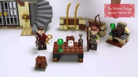 LEGO The Hobbit - Barrel Escape 79004