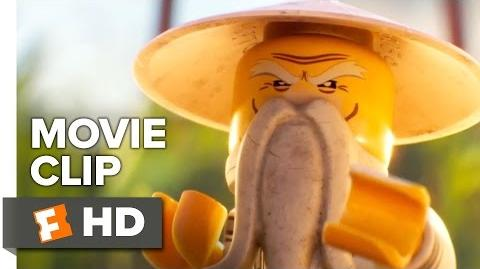 The Lego Ninjago Movie Official Movie Clip - Sensei Wu (2017) - Jackie Chan Movie
