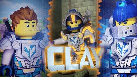 LEGO NEXO KNIGHTS - Clay - Live by the Code