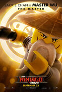The LEGO Ninjago Movie Poster Wu 2