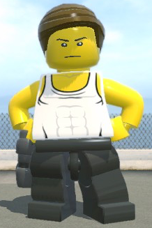 Butch Patterson minifig