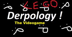 Derpology (The Videogame) Logo