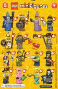 LEGO Series12 Checklist