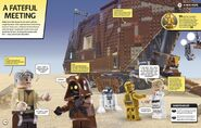 LEGO Star Wars in 100 Scenes page 110-111