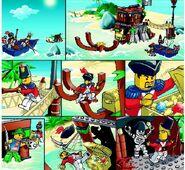 6253 Shipwreck Hideout comic 1