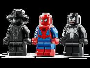 76150 Le Spider-jet contre le robot de Venom 4