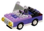 Purple Mini Car