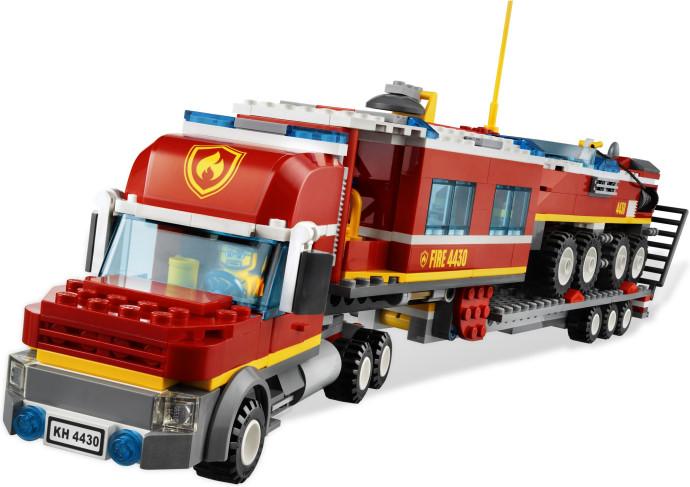 4430 le transporteur des pompiers 6jpg - Lego City Pompier