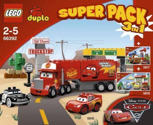 66392 Cars Super Pack 3-in-1 | Brickipedia | FANDOM powered by Wikia