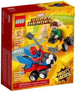 76089 Mighty Micros- Scarlet Spider vs