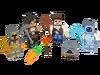 853610 Assortiment d'habillages Minecraft 2