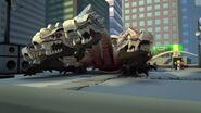 Dragon suprême-Le guerrier de pierre