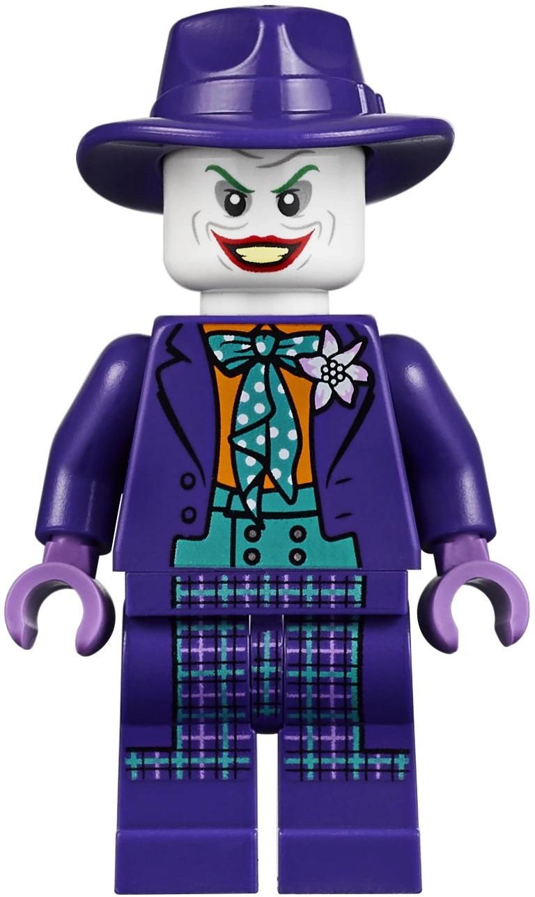 LEGO LE JOKER-Rose Costume Batman DC Super Heroes Comic RARE