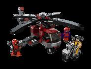 6866 L'hélicoptère de Wolverine