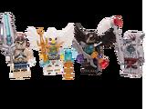 850779 Ensemble d'accessoires et de figurines Legends of Chima