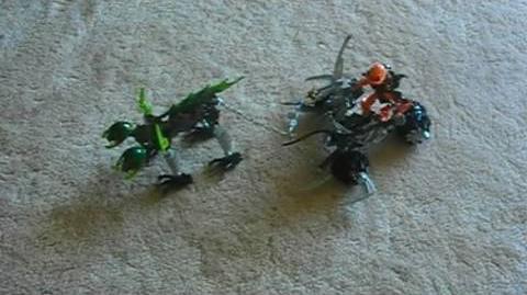 Bionicle Review Baranus V7
