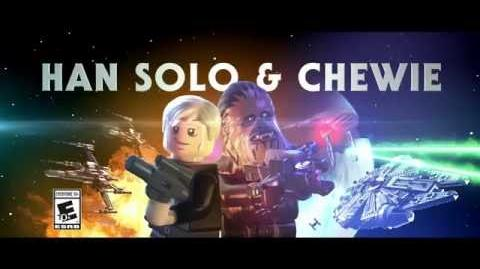 Han and Chewie - LEGO Star Wars - The Force Awakens Game - Character Spot