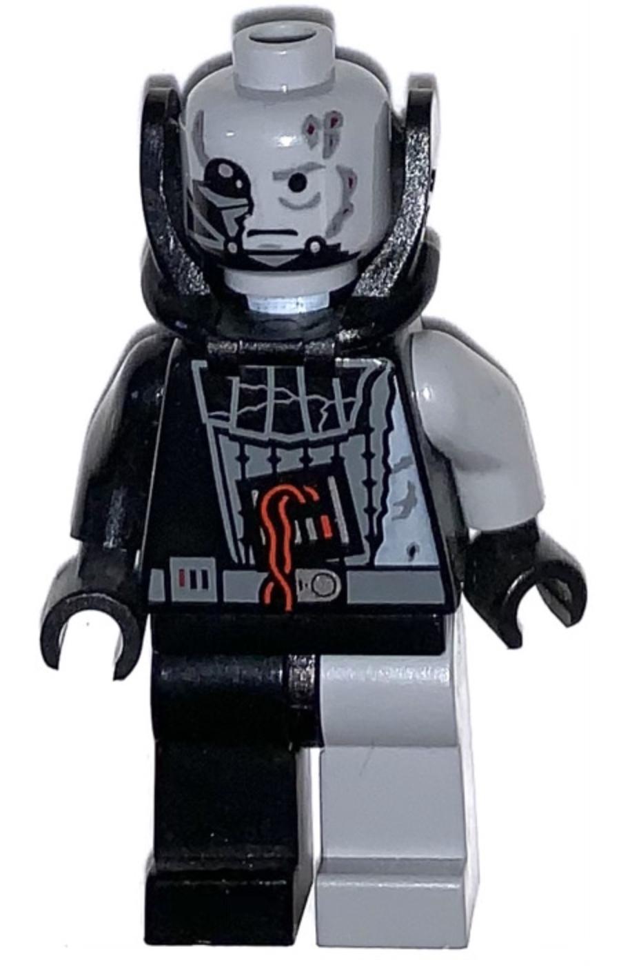 Lego Anakin Skywalker 8096 Battle Damaged Darth Vader Helmet Minifigure
