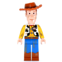 Woody Minifigurine taches