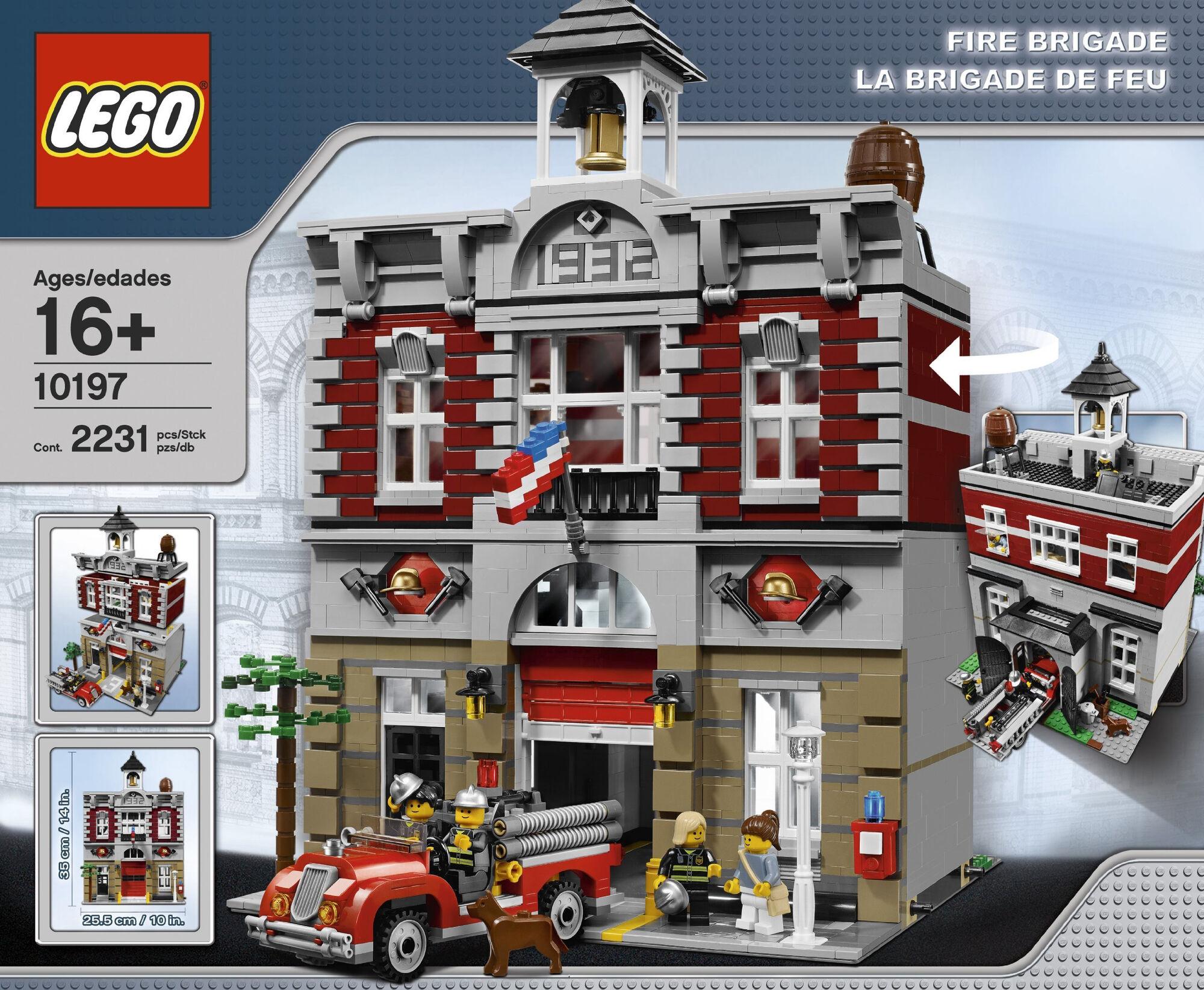 10197 fire brigade brickipedia fandom powered by wikia. Black Bedroom Furniture Sets. Home Design Ideas
