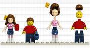 Comparatif Mini-poupée Minifigurine