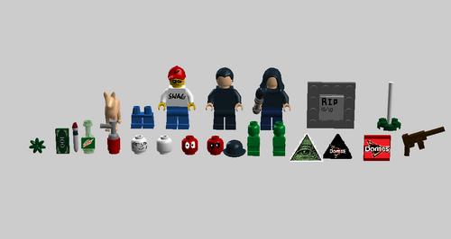 LEGO MLG Pack